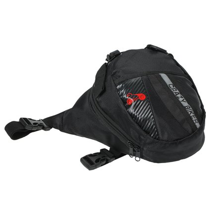 Portable Waterproof Motorcycle Riding Waist Bag Outdoor Leg Bag Elastic Belt Motorcycle Waist Bag - image 2 of 7