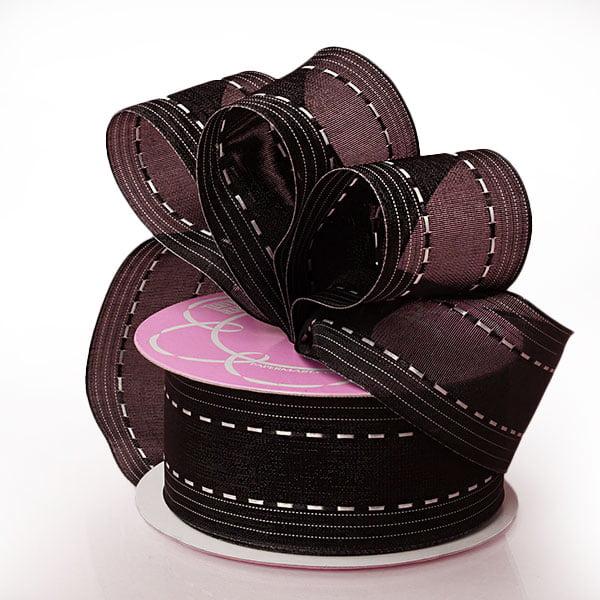 "5/8"" X 25 Yards Hot Pink Carley Sheer Ribbon  by Paper Mart"
