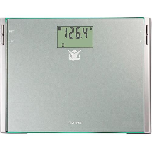 Biggest Loser 75444102BL CalMax Glass Electronic Digital Bath Scale
