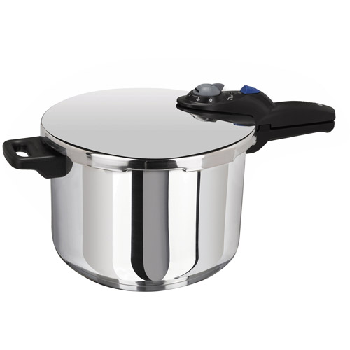 Casa Essentials Stainless Steel 6 Quart Pressure Cooker, 1 Each