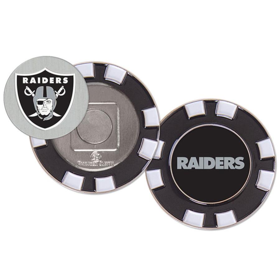 Oakland Raiders WinCraft Golf Poker Chip - No Size