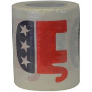 Fairly Odd Novelties Republican GOP Logo Novelty Toilet Paper