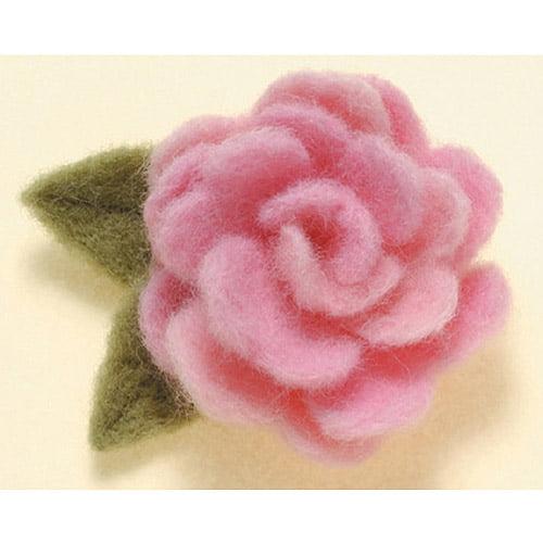 Clover Applique Mold, Rose Design Multi-Colored