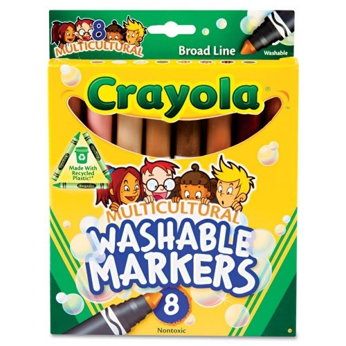 Crayola LLC Washable Conical Point Marker (8/Pack) (Set of 2)
