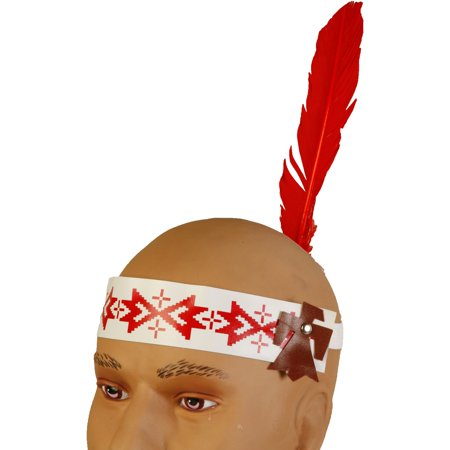 Native American Head Band with Feather - Classic Halloween Playlist