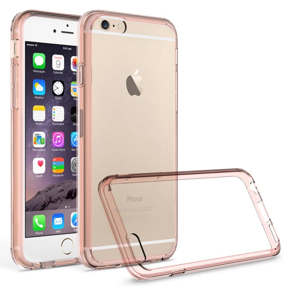 iPhone 6 / iPhone 6S Case - Armatus Gear (TM) Ultra Slim Anti-Scratch Acrylic Clear Case with TPU Grip Bumper Hybrid Phone Cover for Apple iPhone 6 / iPhone 6S