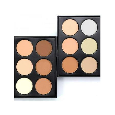 Pro Makeup Compact Face Powder Contour Make Up Studio Fix Bronzer Shading Mineral Pressed Powder (Best Makeup To Contour Face)