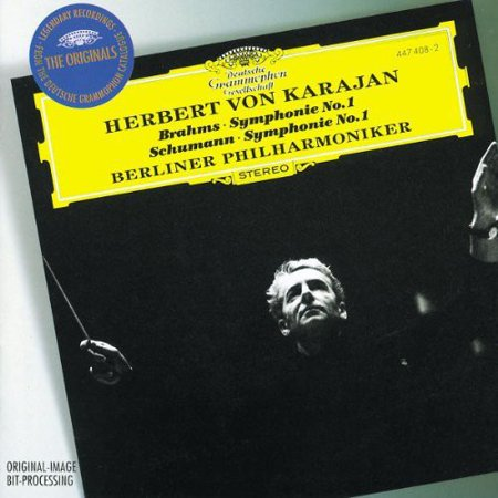 Karajan/Berlin Philharmonic Orch. - Brahms: Symphony No. 1; Schumann: Symphony No. 1 [CD]
