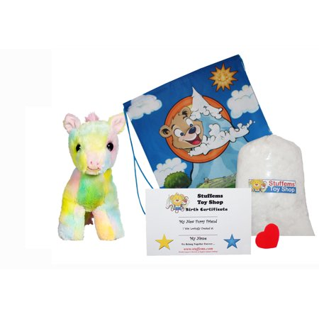make your own stuffed animal buttercup the pony 16