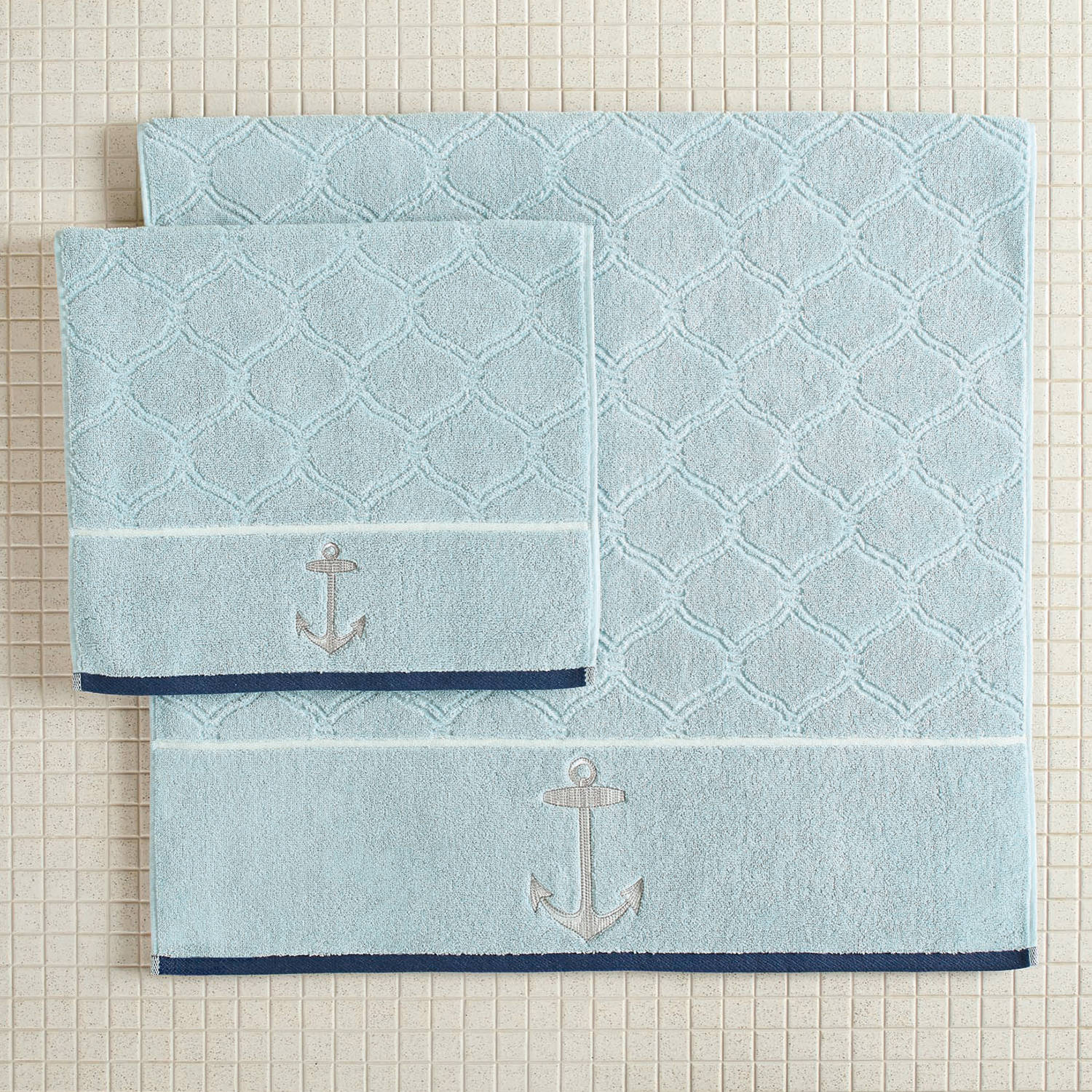 Better Homes and Gardens Nautical Bath Towel Set