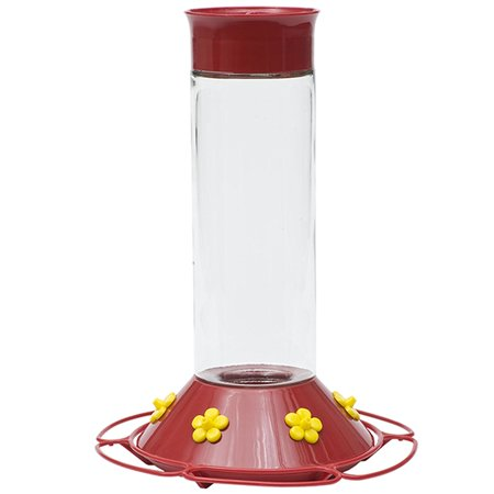 - Perky-Pet 209B Our Best Glass Hummingbird Feeder, 30 ounce nectar capacity with easy to fill wide mouth opening By PerkyPet