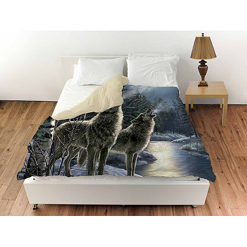 Thumbprintz Howling Duvet Cover