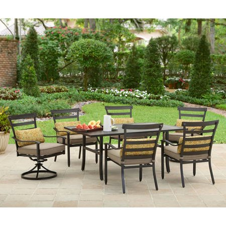 Better homes and gardens prescott 7 piece dining set 7 better homes and gardens