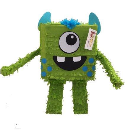 Friendly Monster Pinata Green Color - Buy A Pinata
