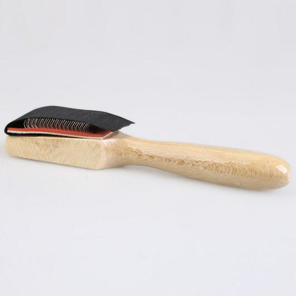 Wood Suede Sole Wire Brush Latin Salsa Tango Dance Shoes Cleaning Tool  TWUKDIU