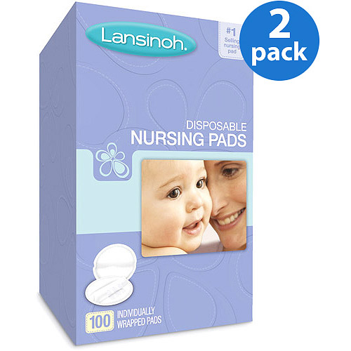 Lansinoh - Disposable Nursing Pads, 100 count, 2-Pack
