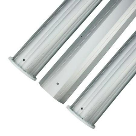 Hydrotools Cover - HydroTools Round Aluminum Solar Cover Reel Tube Kit - 3