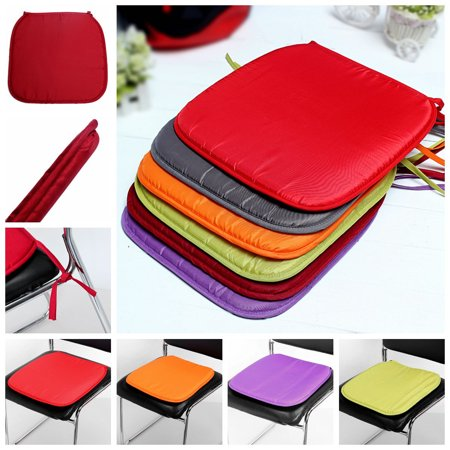 "15x15x0.59"" Portable Garden Patio Outdoor 1.5cm Thickness Chair Seat Pad Cushion Indoor Home Kitchen Office Mat Cover Protector Cushion Square"