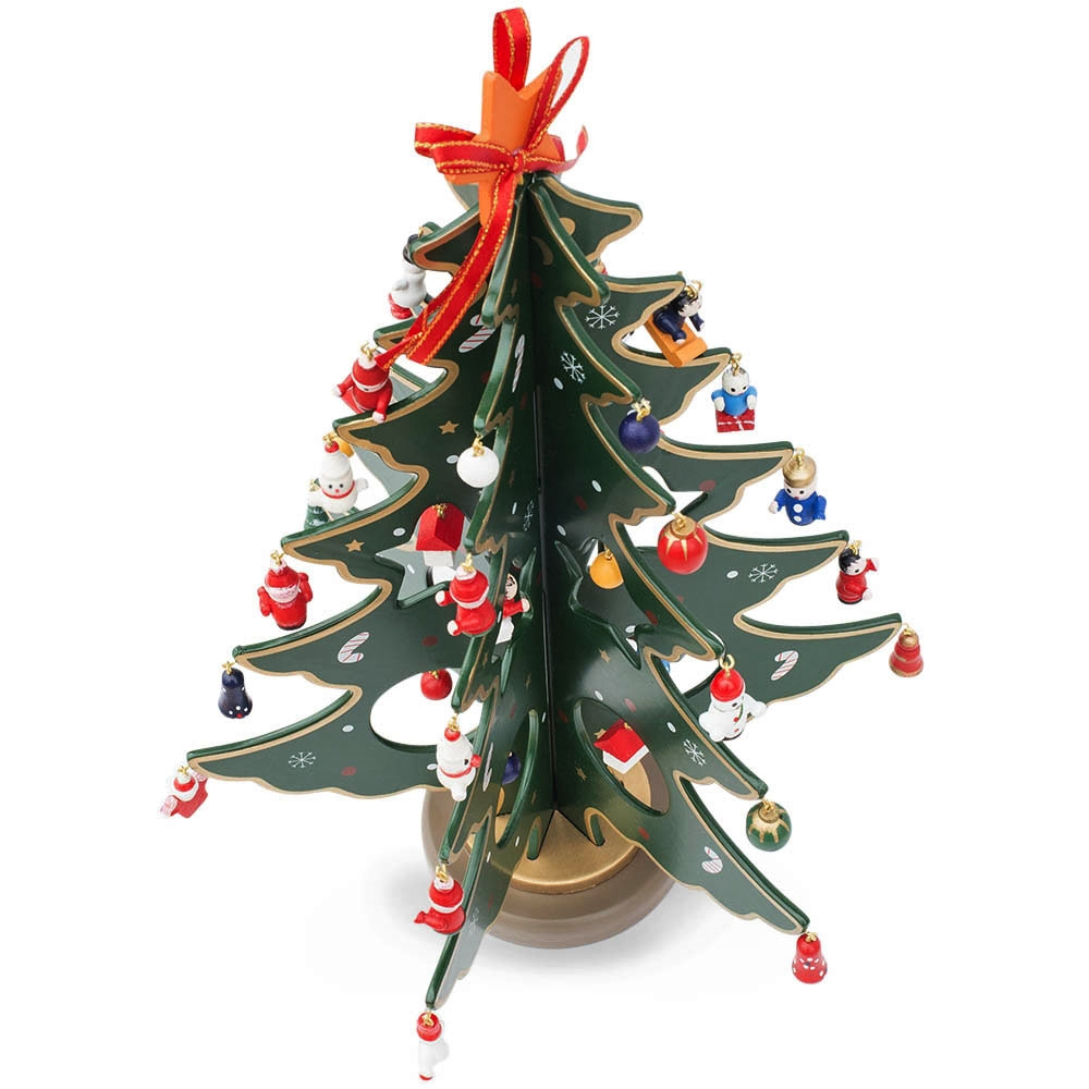 Tiny christmas tree ornaments - Por Miniature Christmas Tree Ornaments