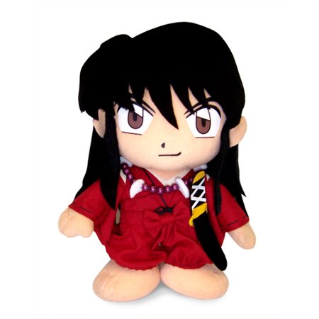 8 Inch Ho Fan - Plush - Inu Yasha - InuYasha Human Form 8'' Soft Doll Anime Licensed ge6118