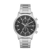 Relic by Fossil Men's Zachary Silver-Tone Stainless Steel Watch
