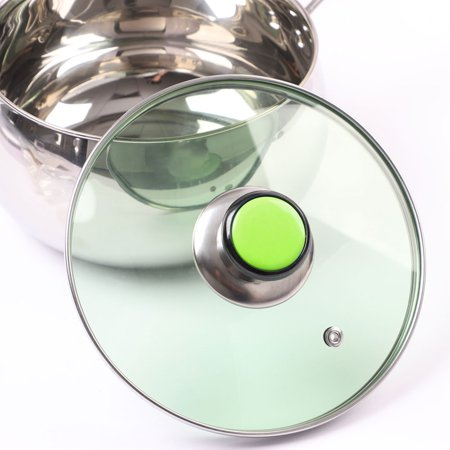 Pan Pot Lid Knob Handle Durable Universal Cookware Cover Replacement Green 2pcs - image 3 of 5
