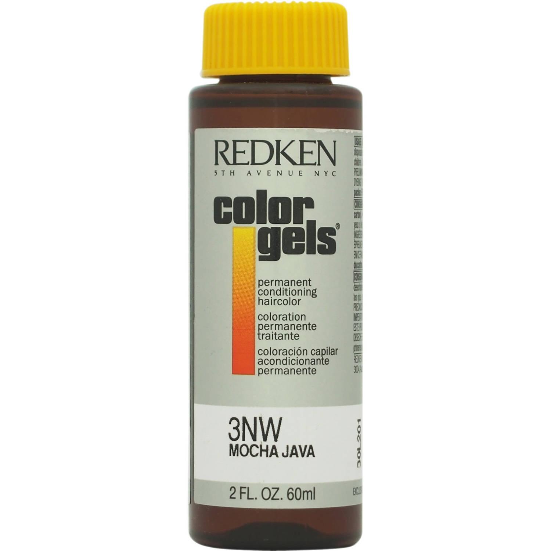 Redken Color Gels Permanent Conditioning Haircolor 3Nw - Mocha Java, 2 Oz