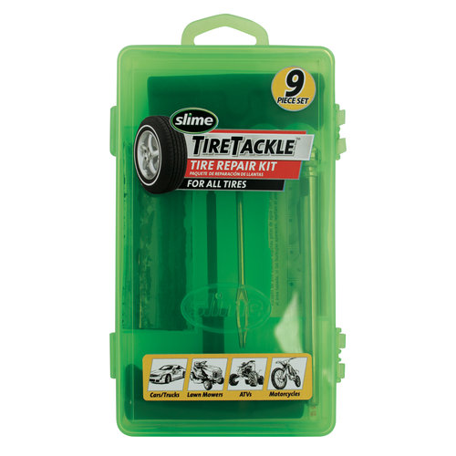 Slime T-Handle Tire Tackle Kit, 9pc