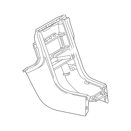 Genuine OE Mercedes-Benz Front Console 170-680-08-52-7211