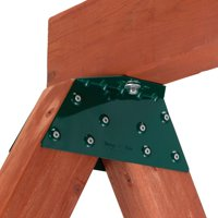 Swing-N-Slide EZ Frame Swing Beam Metal Bracket for Swing Beam A-Frame