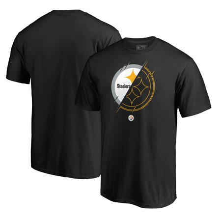 Pittsburgh Steelers NFL Pro Line by Fanatics Branded X-Ray T-Shirt - Black Nfl Fanatic Fan Shirt