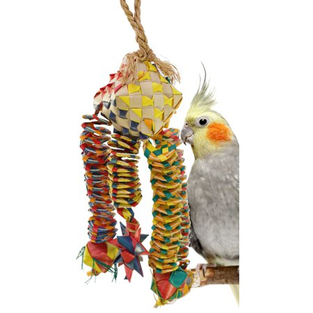 Planet Pleasures Parrot Pinata - 03327 Medium Diamond Bouncer Pinata