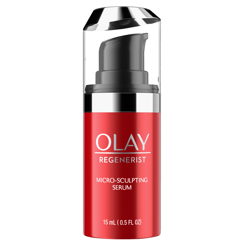 Olay Regenerist Micro-Sculpting Serum, Face Moisturizer Trial Size 0.5 fl oz