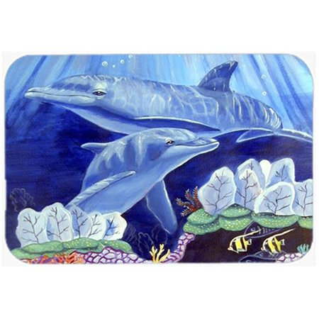 Carolines Treasures 7080JCMT 24 x 36 in. Dolphin Under The Sea Kitchen Or Bath Mat - image 1 de 1