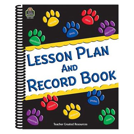 Paw Prints Lesson Plan and Record Book](First Grade Halloween Lesson Plans)