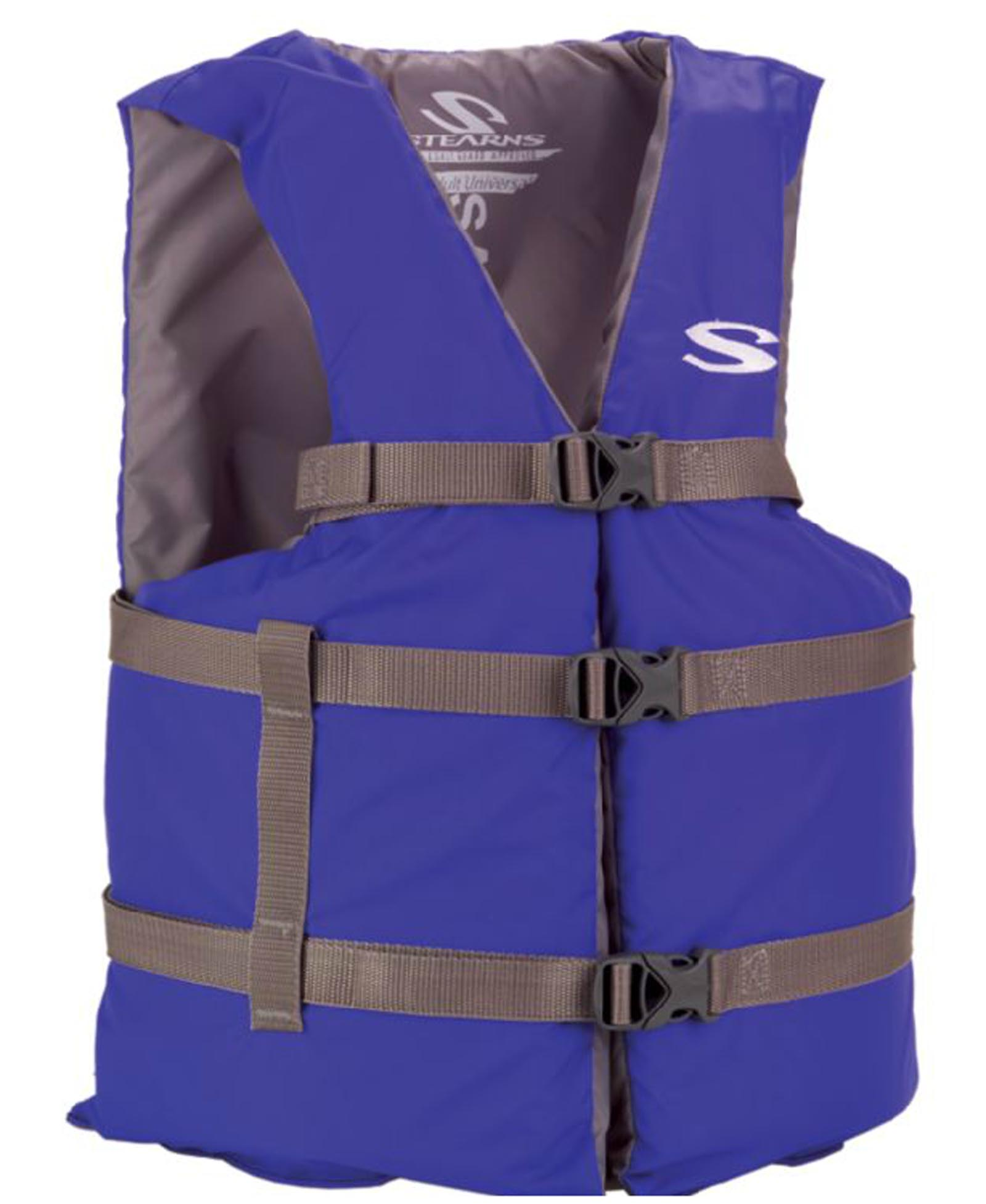 COLEMAN Stearns Adult Classic Series Universal Life Jacket Flotation Vest Blue by COLEMAN