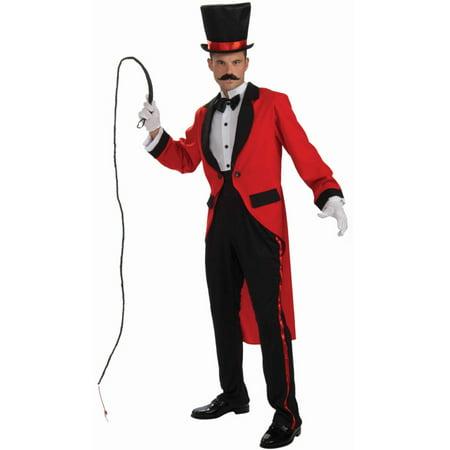 Adult Circus Ringmaster Or Magician Costume Bundle Standard Large 42