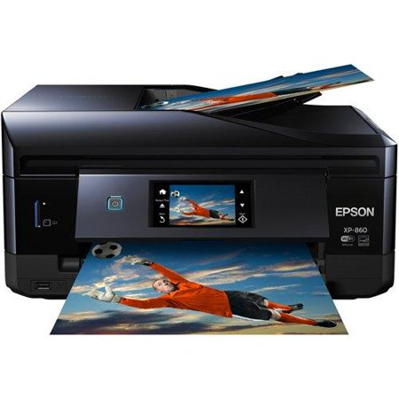 Epson Expression Photo XP-860 Wireless Color Photo Printer w/ Scanner and Copier