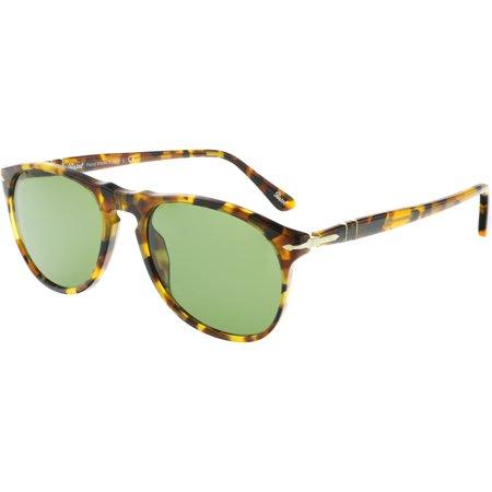 92425bd69ba16 Persol - Persol PO9649S-10524E-52 Brown Oval Sunglasses - Walmart.com