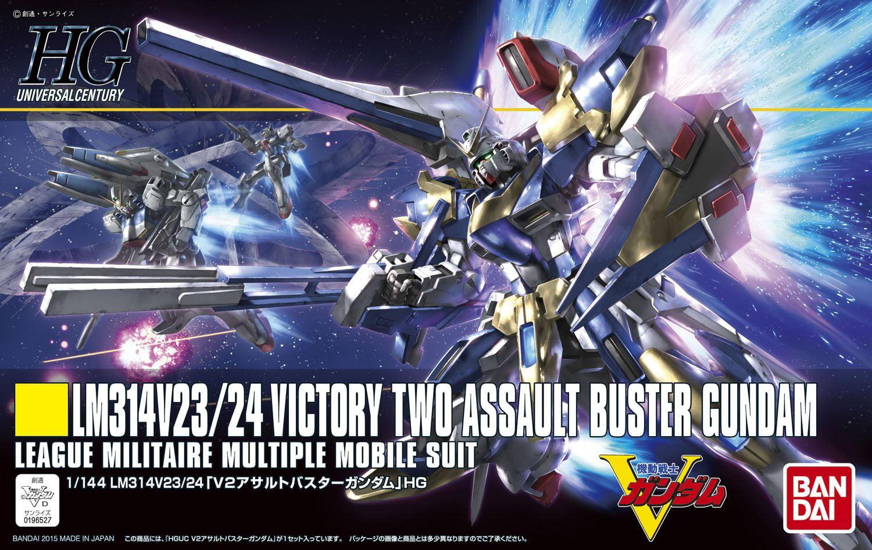Bandai Hobby #189 HGUC Victory V-2 Assault Buster Gundam HG 1 144 Model Kit by Bandai Hobby