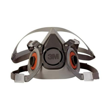 3M Reusable Half-Face Respirator, 6000 Series