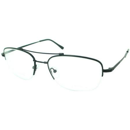 107c170e30 M-Flex Memory Titanium Eyeglass Frames Men s Glasses Gun Metal RX-Able  56-19-145 - Walmart.com