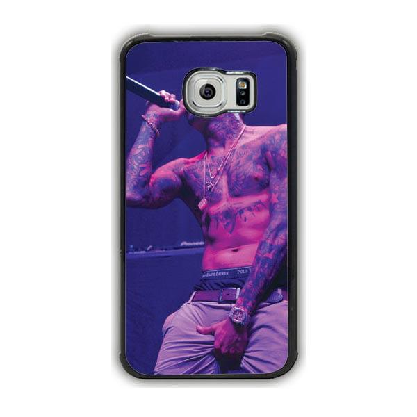 Chris Brown Galaxy S7 Edge Case
