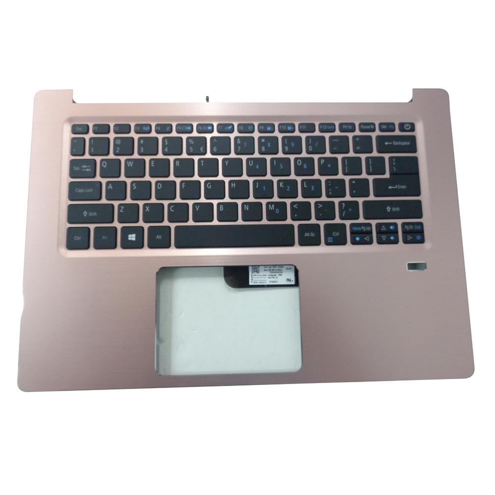 Acer Swift 3 SF314-52 SF314-52G Pink Upper Case Palmrest & Keyboard 6B.GQRN5.001 - Walmart.com