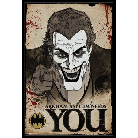 Batman Comic Joker Wants You Poster Poster Print