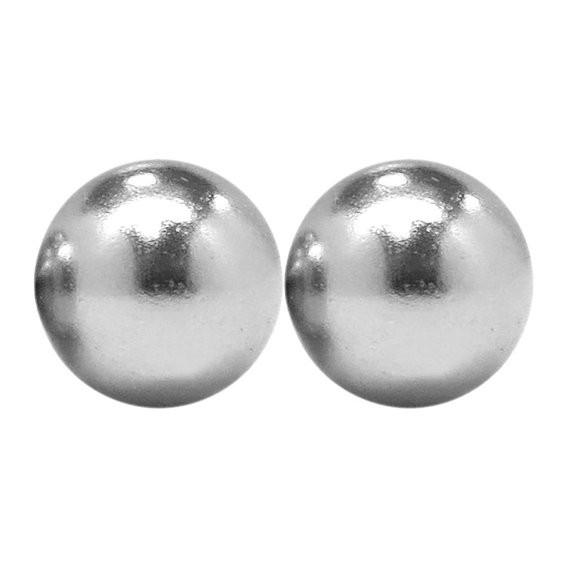totalElement 3 4 Inch Neodymium Rare Earth Sphere Magnets N48 (2 Pack) by totalElement