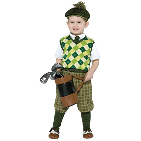 Back To Future Halloween Costume (Future Golfer Child Halloween Costume, One Size,)
