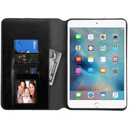 iPad Mini 4 Case, by Insten Book-Style Leather Stand Case with card slot For Apple iPad Mini 4 case cover - image 2 of 3
