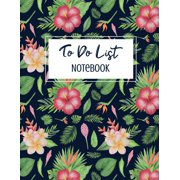 To Do List Notebook: Undated Daily To-Do List Planner Personal and Business Activities with Level of Importance and Check Boxes Planner to Help You Get Stuff Done (Paperback)