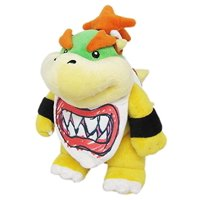 "Little Buddy LLC, Super Mario All Star Collection: Bowser Jr. 9"" "" Plush"